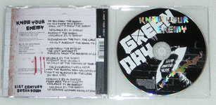 Know Your Enemy CD single